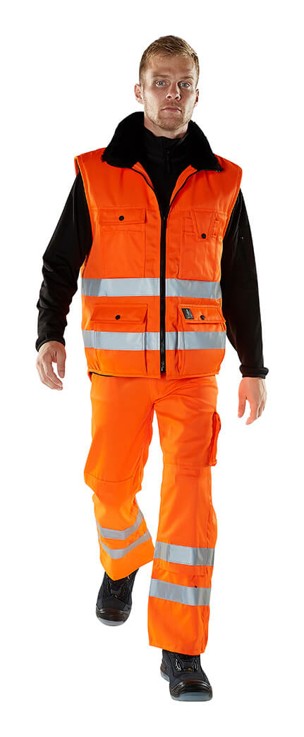 Gilet grand froid & Pantalon - Hi-vis orange - Modèle - MASCOT® SAFE ARCTIC