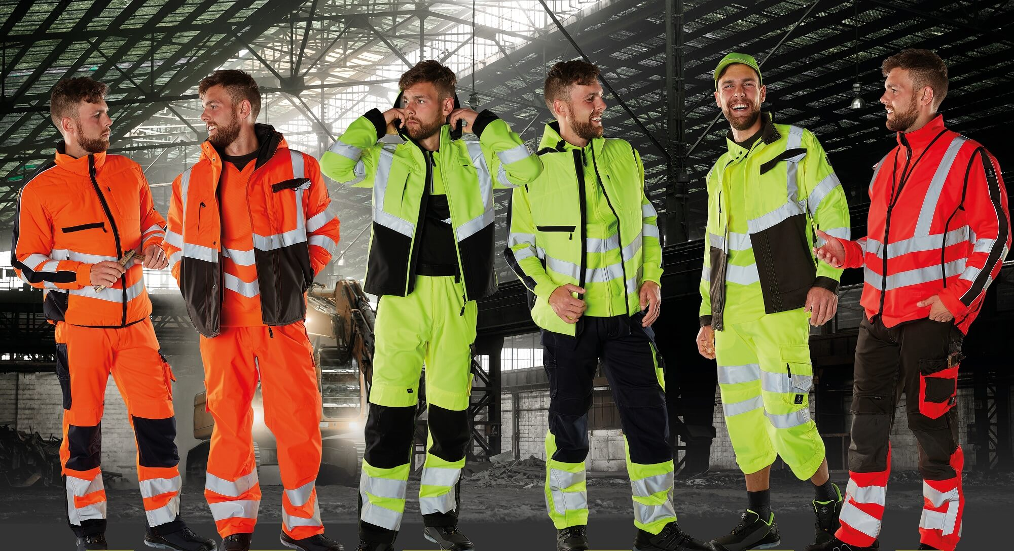 Hi-vis jaune, Hi-vis orange & Hi-vis rouge - Vêtement de travail - MASCOT® SAFE SUPREME