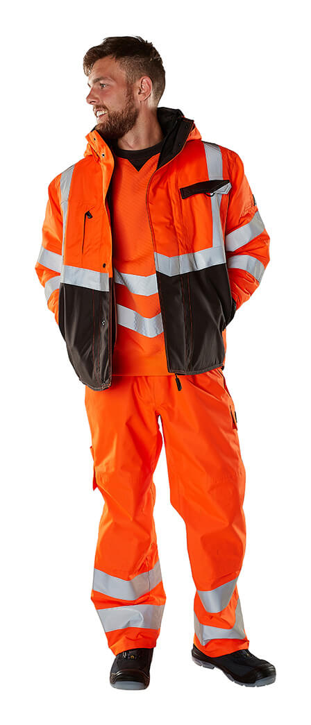 Vêtement de protection - Hi-vis orange - MASCOT® SAFE SUPREME - Modèle