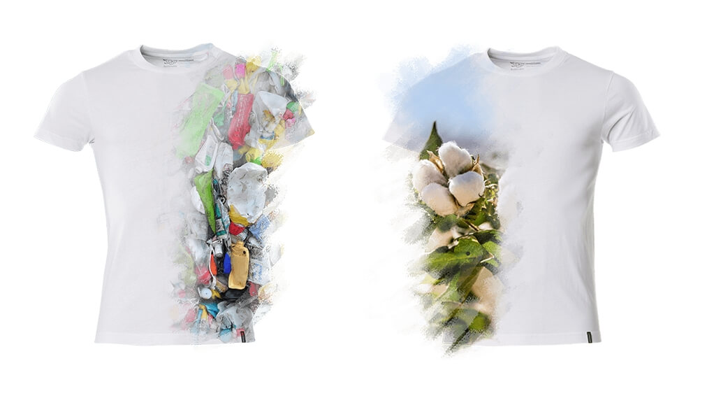 2019 - Modellen, Herr, Dame, Sustainable products, T-Shirts, Recycelter Polyester, Bio-Baumwolle