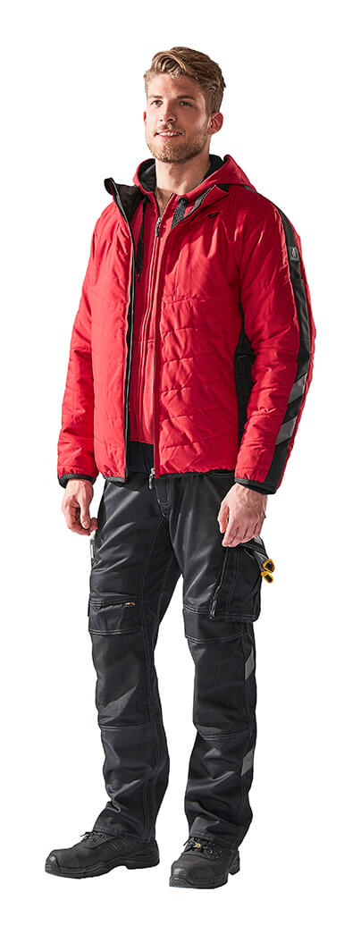 Herrn - Rot - MASCOT® UNIQUE Thermojacke