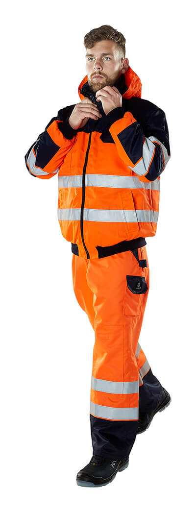 MASCOT® SAFE IMAGE Arbeitskleidung - Hi-Vis Orange - Model