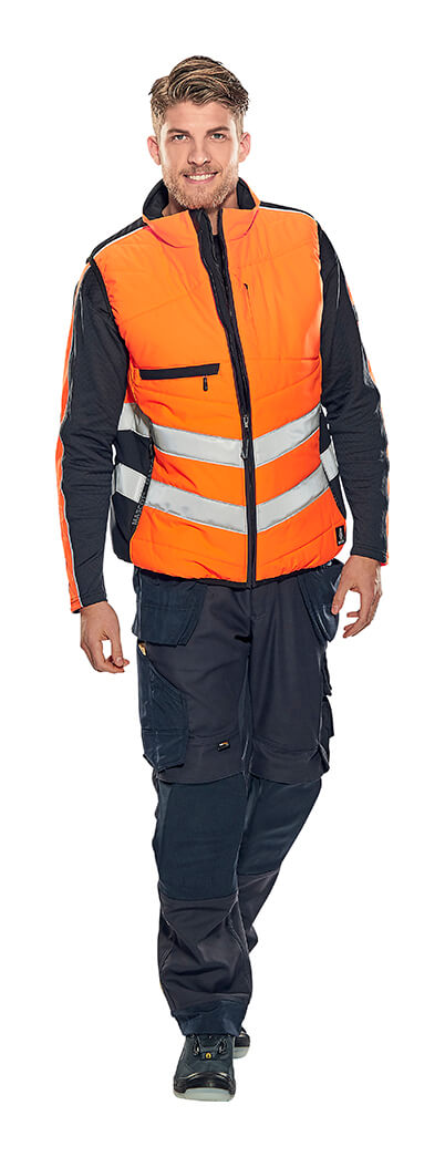 Model - Warnschutzkleidung Hi-Vis Orange - MASCOT® SAFE SUPREME