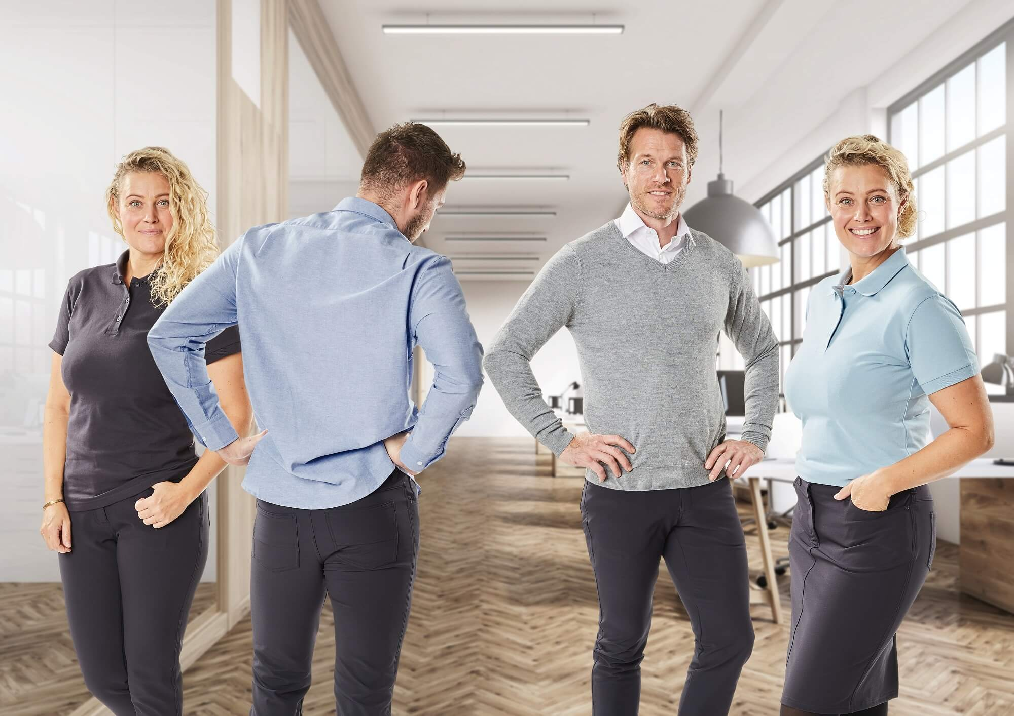 Business Casual - Pull, Chemise & Polo - Femmes & Hommes