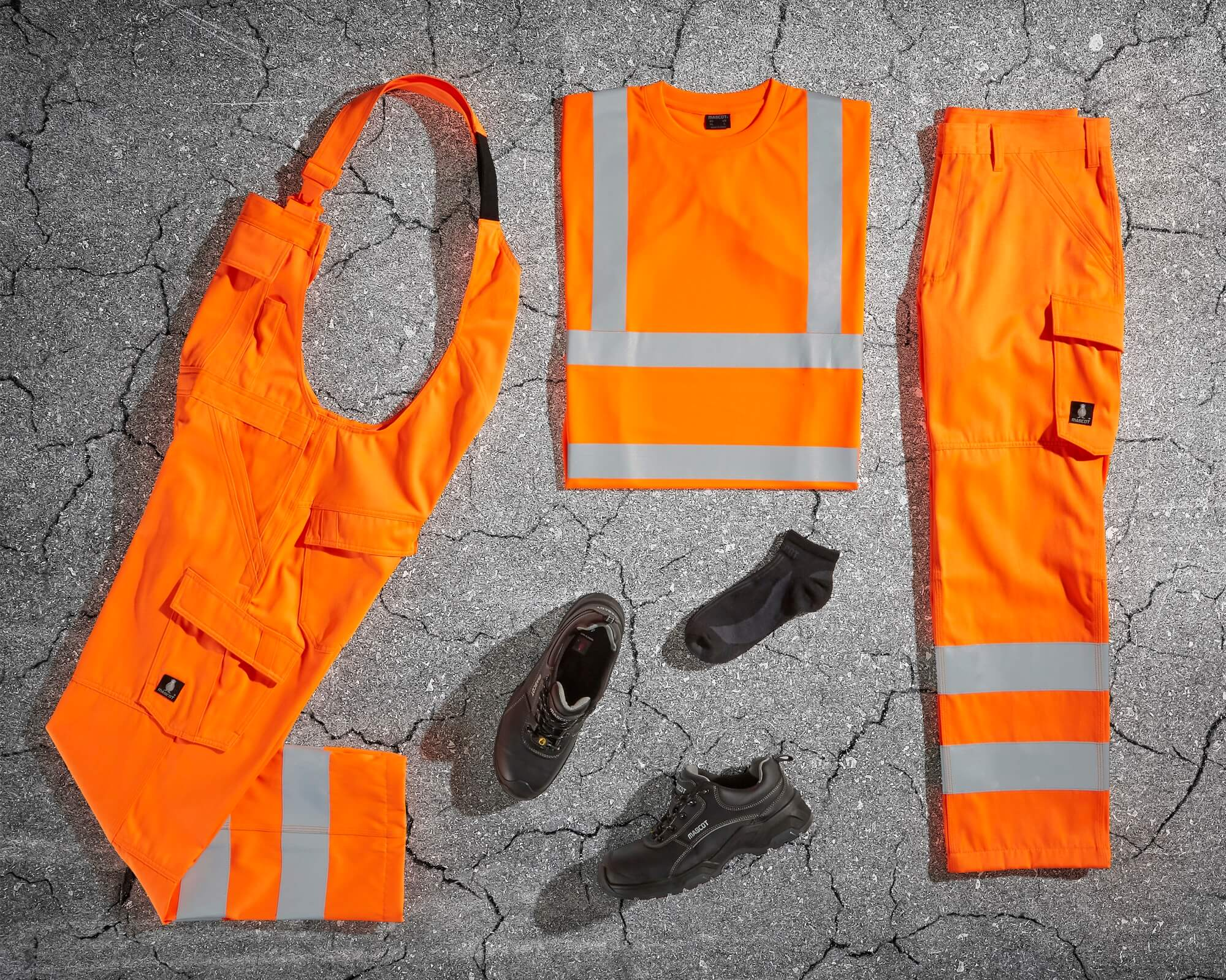 MASCOT® SAFE LIGHT - Hi-vis orange - Vêtement de sécurité