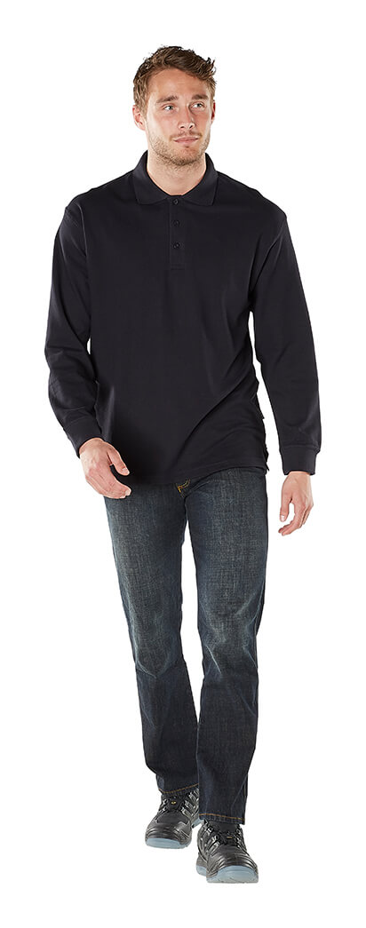 Homme - Noir - Sweatshirt polo - MASCOT® CROSSOVER