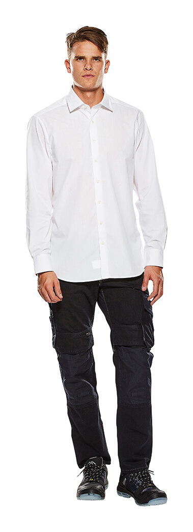 Chemise, manches longues Blanc - Homme